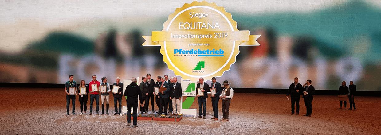Poda Zaun gewinnt EQUITANA Innovationspreis 2019 🏆