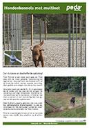 Hondenkennels met multinet
