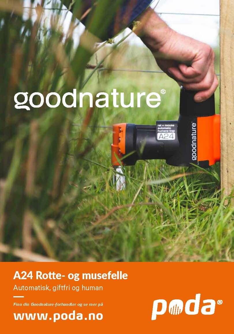 Goodnature Rotte- og musefelle