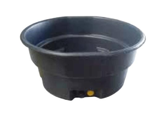 Produktbillede af et stort, sort drikkekar