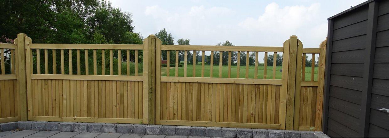 Opdateret Country Garden stakit | Tryg med kvalitetshegn fra Poda® KD05