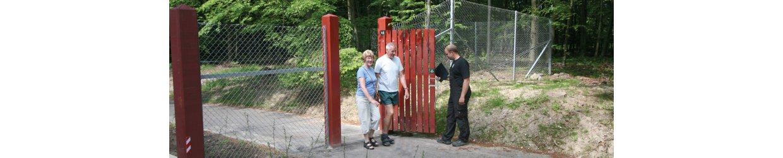 Omheiningen voor wildparken
