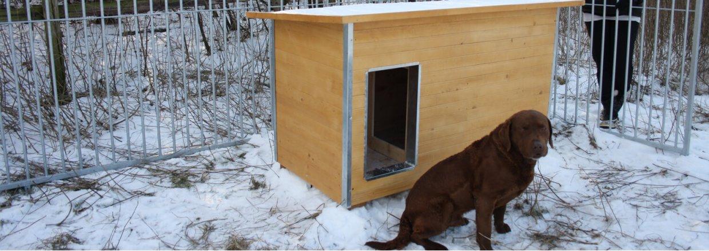 hundehus isoleret vindfang