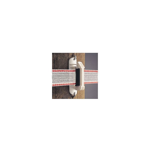 Isolator til 40 mm tape, hvid, 25 stk