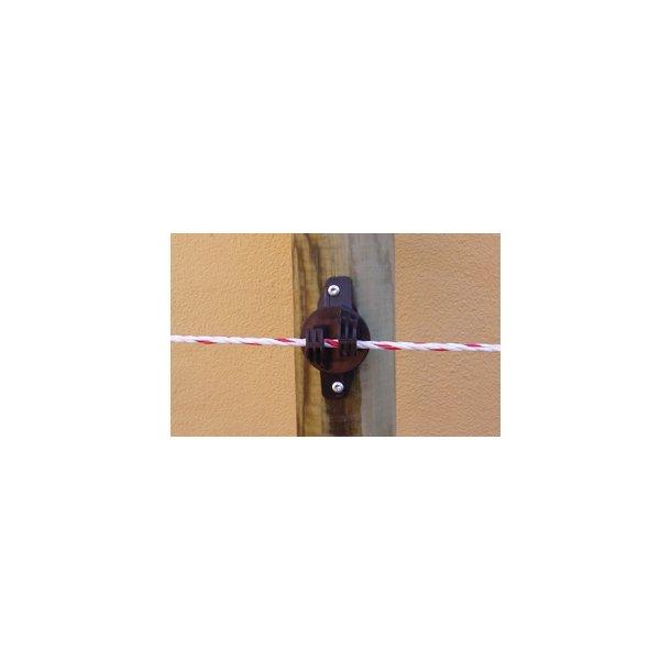 Typ W isolator för elrep, svart, 175 st