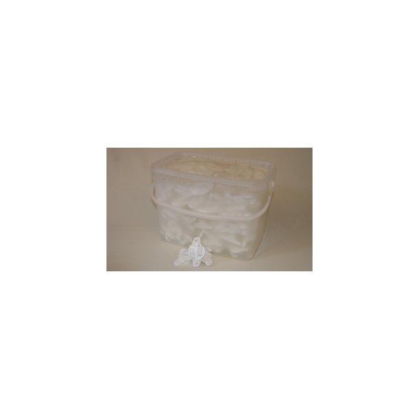 Typ W isolator för elrep, vit, 175 st