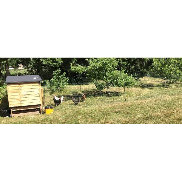 El-nät till fjäderfä 110cm 50m