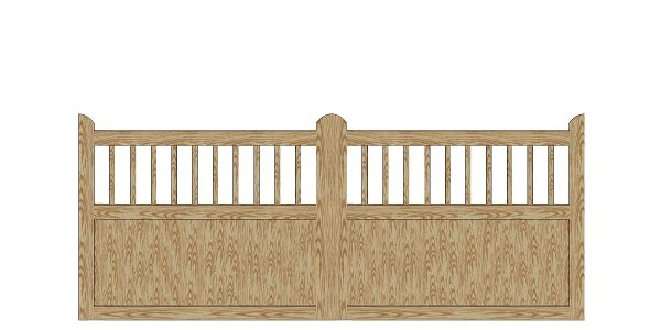 country garden port 300 cm ekstra solid port i tr fra poda. Black Bedroom Furniture Sets. Home Design Ideas