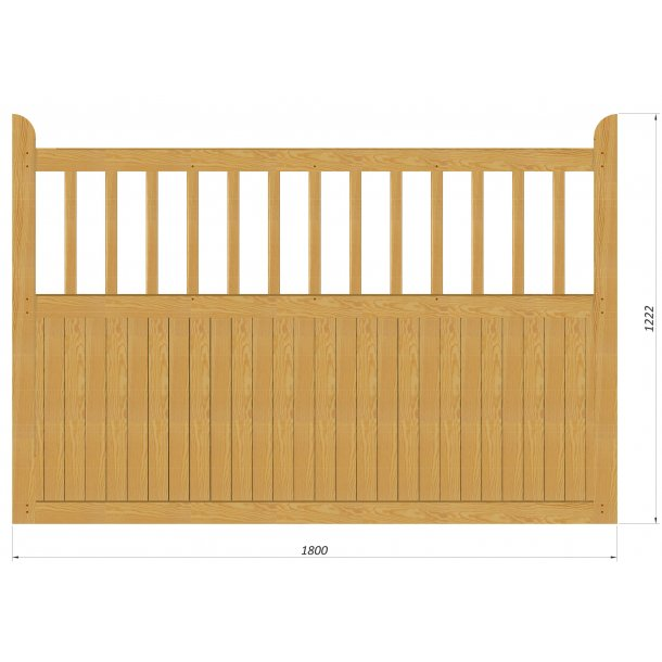 Country Garden stakit L180xH122cm