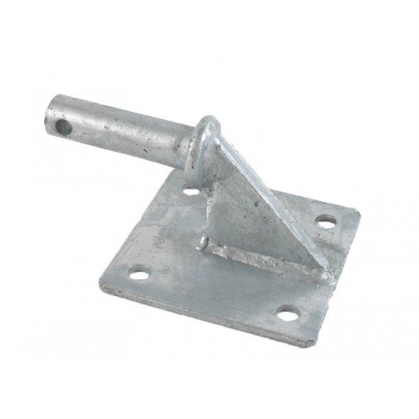Stabel m. monteringsplade Ø20mm