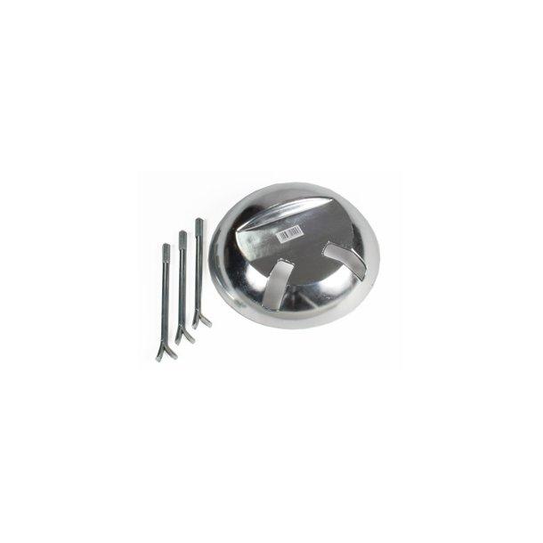 Sköldpadda i aluminium H: 50 mm D:200 mm
