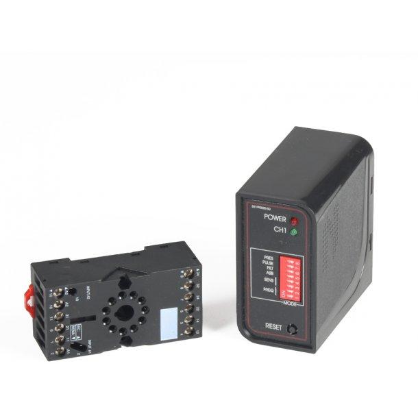 Detektorsløjfeenhed 1-kanals