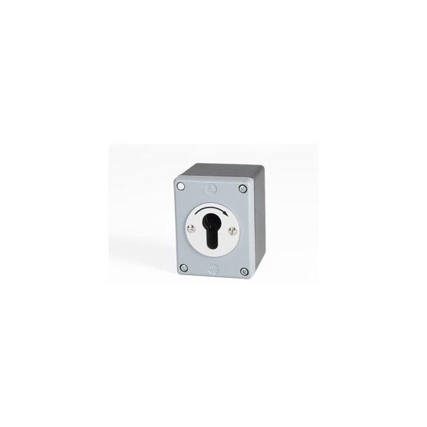 Nøglekontakt uden cylinder