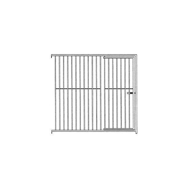 Dörrsektion 150 cm Standard