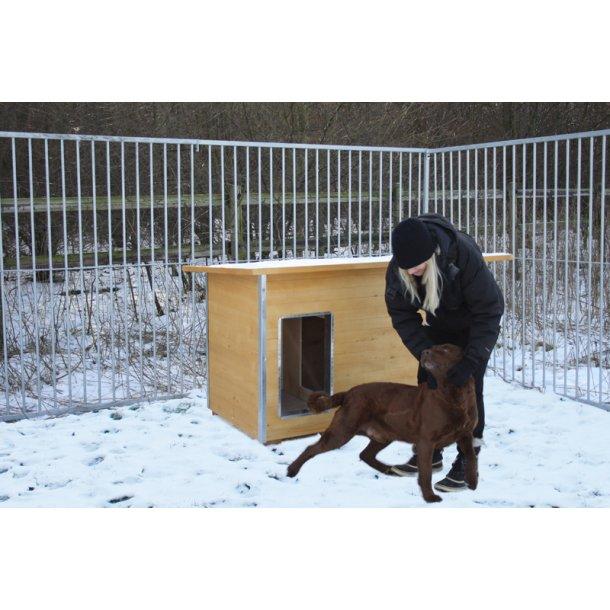 Hundehus i træ Lux (L)
